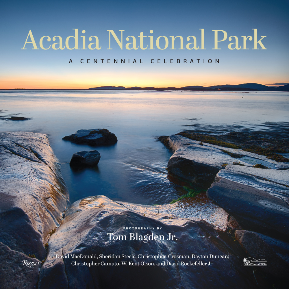 """Acadia National Park: A Centennial Celebration"" is one of several books out this  year to commemmorate the park's 100th anniversary. The coffee table took includes more than 150 large, color images focusing on the nature of the park, by photographer Tom Blagden Jr. There are also essays by David Rockefeller Jr. and Ken Burns' collaborator Dayton Duncan, among others."