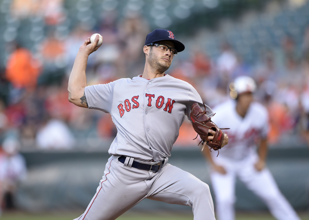 Joe Kelly failed as a starter this season for the Boston Red Sox, and has a 5.55 ERA in 41 starts since 2014. Now he's ticketed for the bullpen in Lowell, then in Pawtucket.