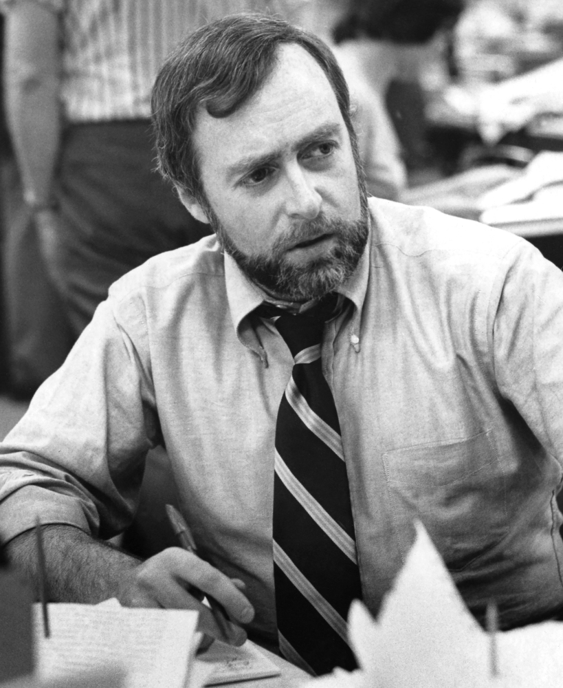 Reporter Sydney Schanberg, here in 1976, detailed horrors in Cambodia later depicted in the film 'The Killing Fields.'
