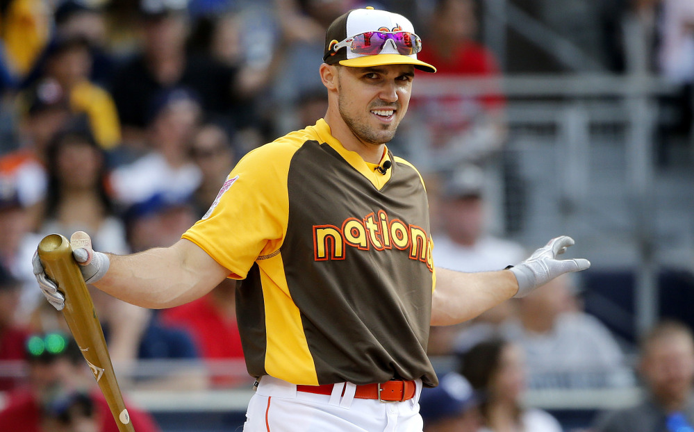 Adam Duvall, a 2016 All-Star with Cincinnati and a Sanford Mainer in 2009, said the lowly Reds