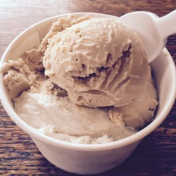 Speckled Ax Coffee Malt ice cream.