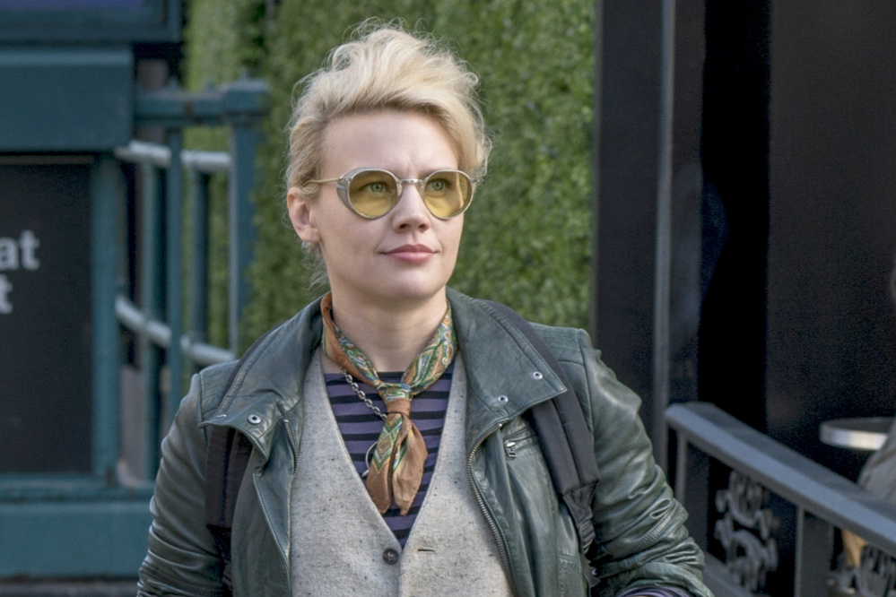 Kate McKinnon plays the gearhead Jillian Holtzmann in