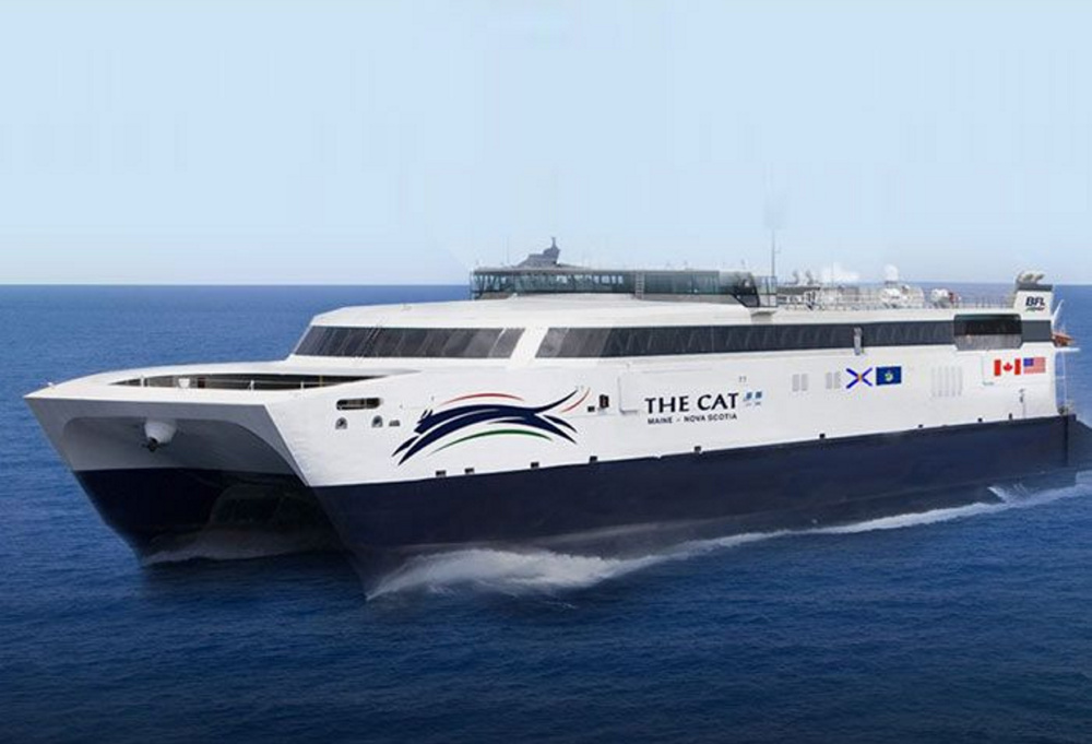 Last year, the ferry between Portland and Nova Scotia carried about 35,500 passengers, roughly 15,000 fewer than its predecessor, the Nova Star.