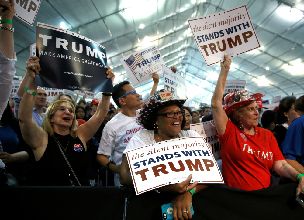 Unlike the 16 Republicans he quashed, Donald Trump hit his supporters in the heart, but whether such emotion can prevail in November remains to be seen.