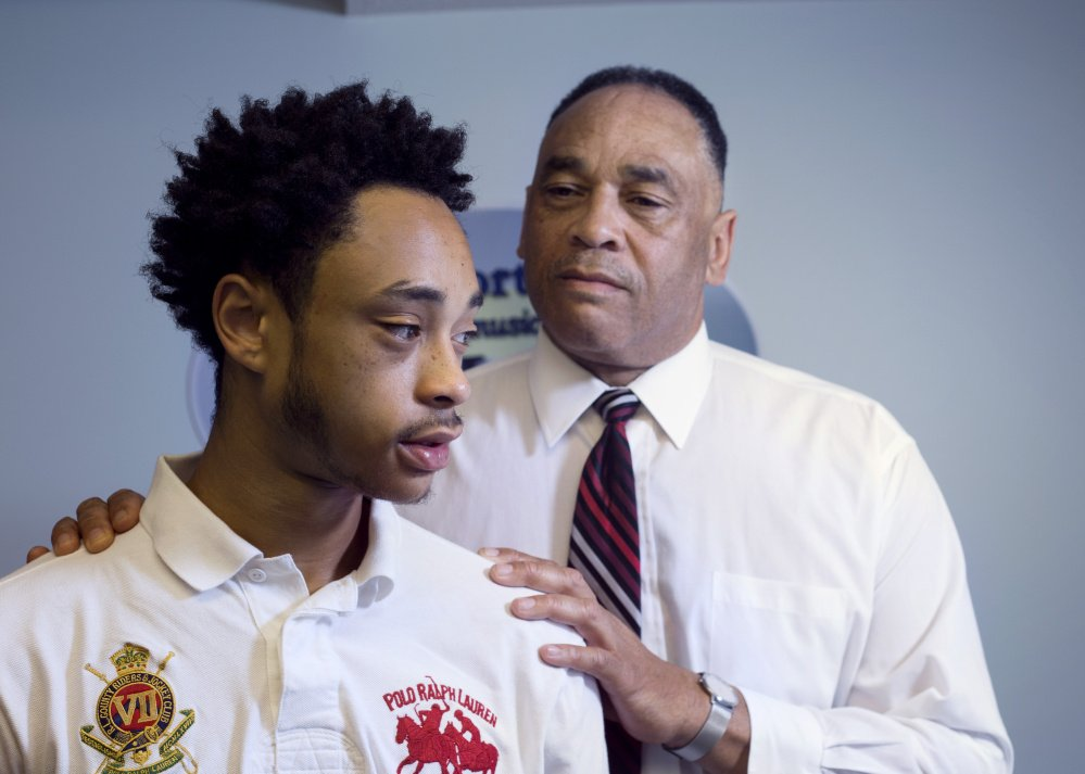 The conversation between Dennis Ross and his college-age son, Dennis Jr., has been a running dialogue on how to succeed in life, not just safety in police encounters.