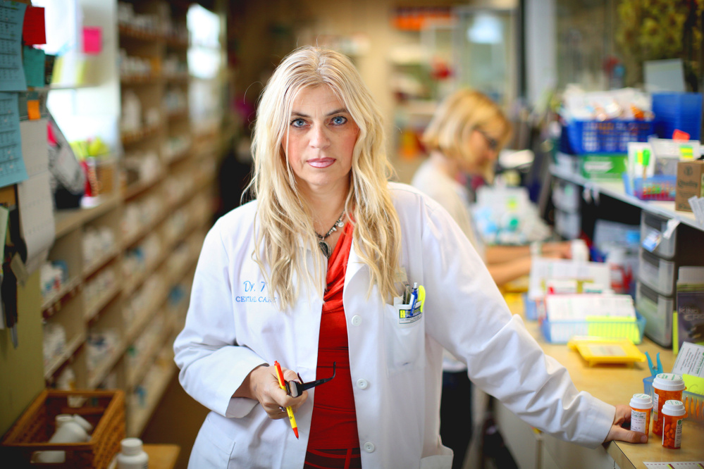 Pharmacist Tihana Skaricic in Encino, Calif., raised questions about prescriptions from the Lake Medical clinic. She wrote to a Purdue Pharma sales rep but never heard back.