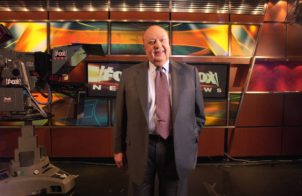 Fox News CEO Roger Ailes, seen here in 2006, is accused of harassing women at the network.