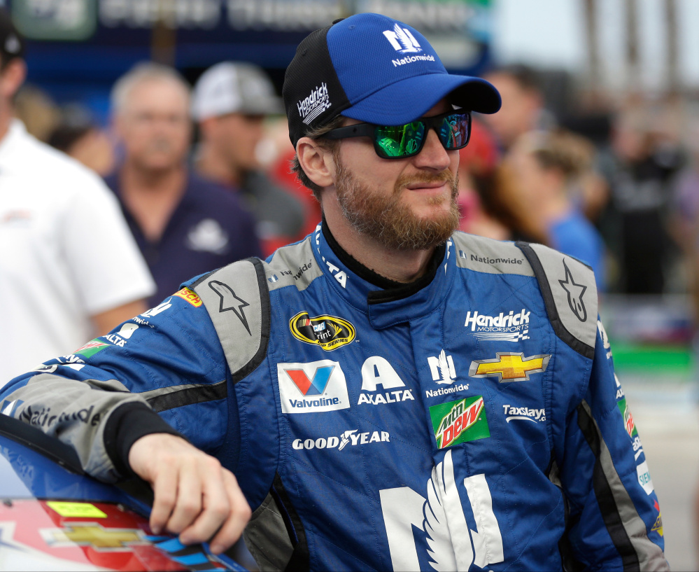 Dale Earnhardt Jr. took himself out of the driver's seat at New Hampshire last Sunday, saying