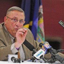 In 2014, Gov. Paul LePage ordered his staff not to do state business by texting, a policy that is being modified.