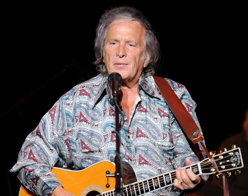 Don McLean, best known for his hit