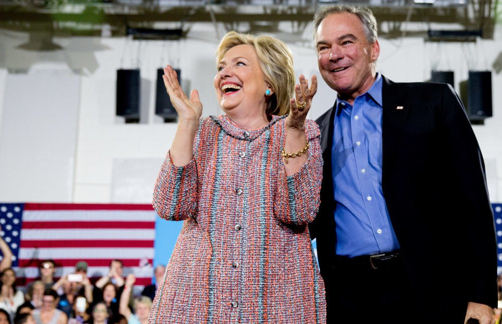 Democratic presidential candidate Hillary Clinton has chosen Sen. Tim Kaine, D-Va., to be her vice presidential running mate.