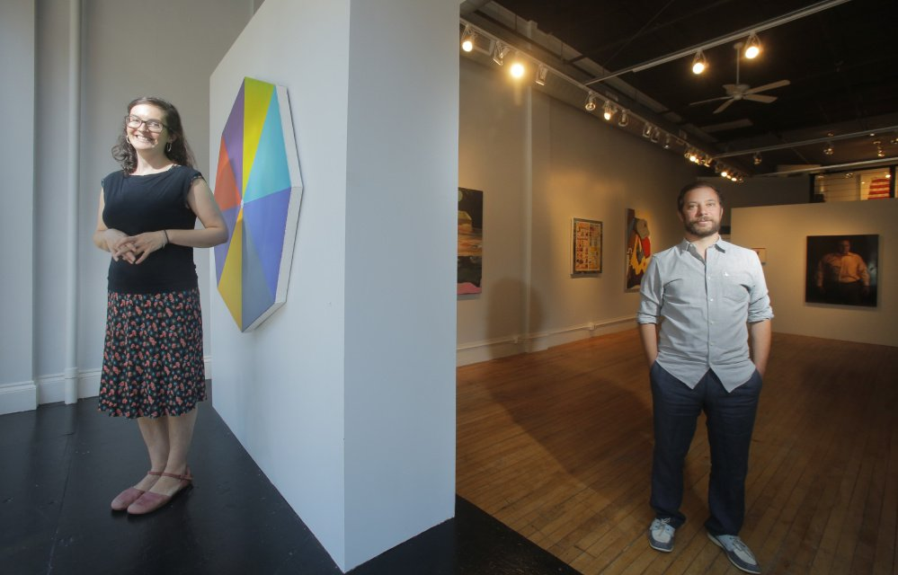 Hilary Irons and Stephen Benenson co-direct Able Baker Contemporary in Portland, an artist-run, all-volunteer operation. Their goal is to showcase the next generation of great painters.