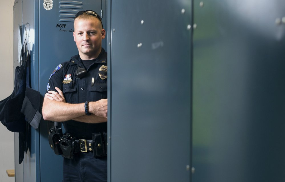 """""""You're that much more careful at work. You watch people that much more closely. ... When you get home, you hug your family a little closer.""""  – Cpl. Ted Gagnon, Saco Police Department"""