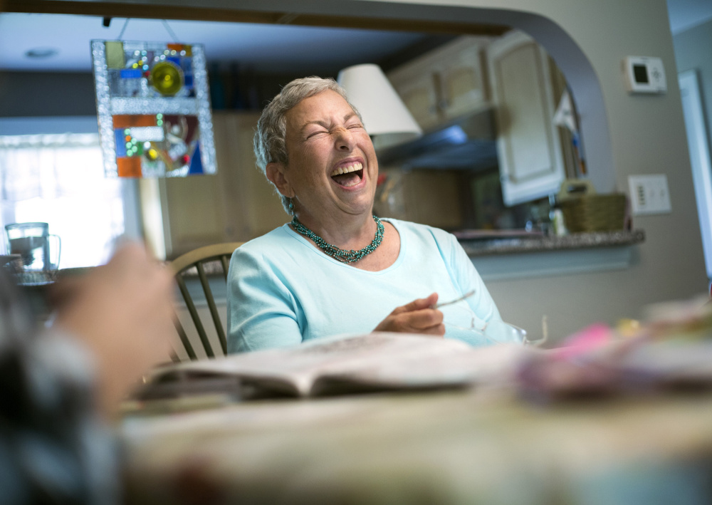 """""""There is light at the end of that prescription,"""" says Denise Swyers, 68, of Brunswick, a longtime opioid user who says she quit cold turkey. She now manages her chronic pain with meditation, exercise and hobbies, including kayaking, reading and creating art."""