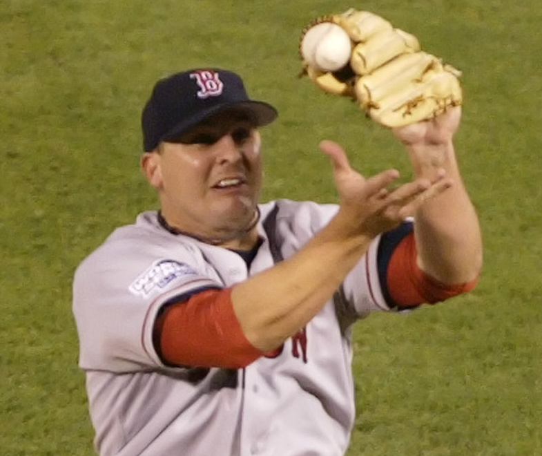 Remember 2004? Yes, it's Keith Foulke catching a grounder and throwing to first base for the final out to clinch the World Series title.