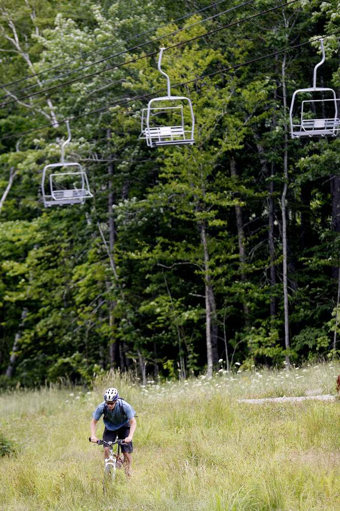 Plans for new trail around ragged mountain emerging the for Portland maine bike trails