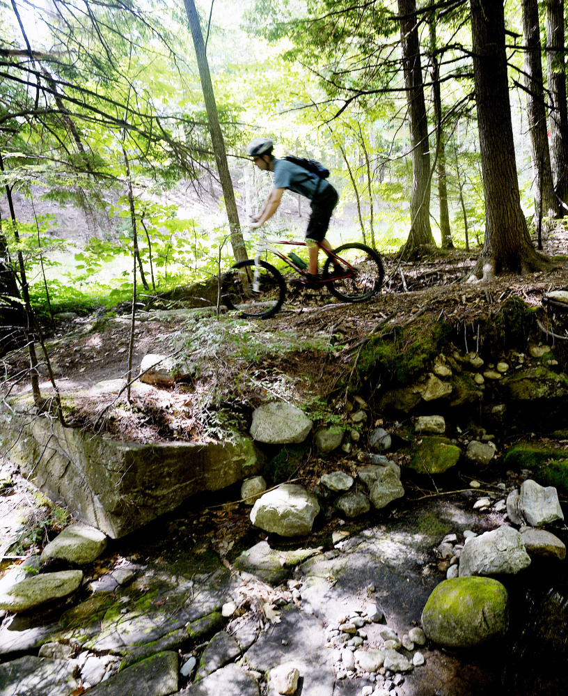 Darby Urey, a Coastal Mountain Land Trust board member, used to make regular trips from Scarborough to Camden for mountain biking, hiking and skiing, until he and his wife decided to move to the area.