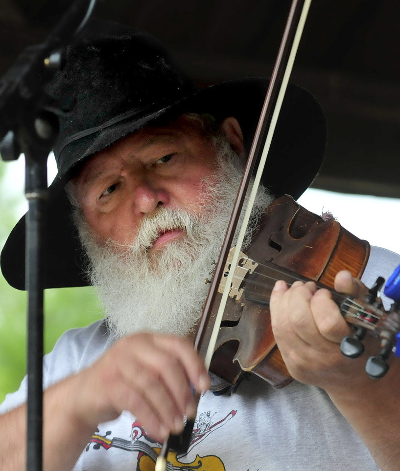 Danny Thompson takes part in the East Benton Fiddlers Convention and Contest in 2014. Admission is $10, which includes parking and camping.