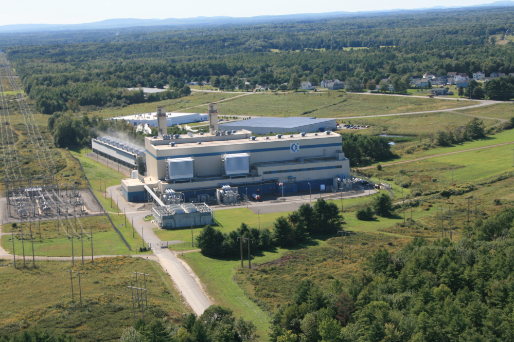 The Calpine power plant in Westbrook Photo courtesy Calpine