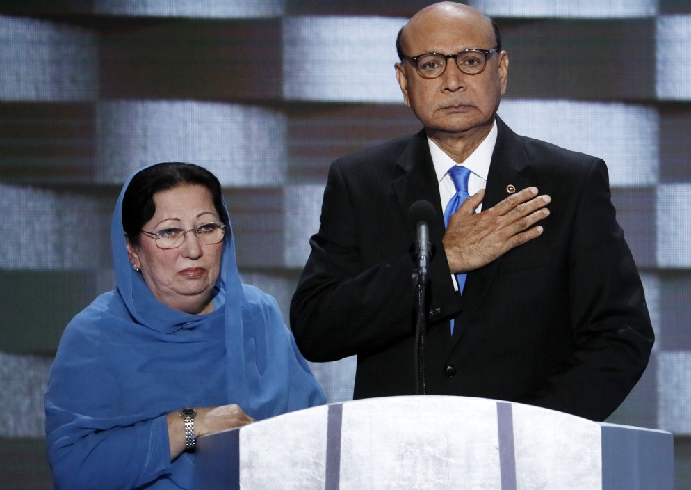 Criticism grows for Trump's assailing of Muslim vet's family
