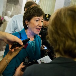 "Sen. Susan Collins, R-Maine, said Donald Trump's acceptance speech Thursday night ""was one of the better speeches he had given. He focused less on himself and more on what the wanted to do for the country."""