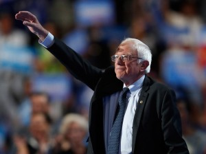 Former Democratic Presidential candidate, Sen. Bernie Sanders, I-Vt., said during his speech at the Democratic National Convention that no one was more disappointed than he is over not being the Democratic presidential nominee.