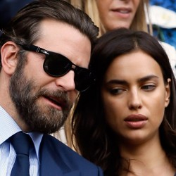 "Bradley Cooper and his girlfriend model Irina Shayk were spotted by TV cameras at the 2016 Democratic National Convention in Philadelphia Wednesday. His appearance has drawn ire among conservative fans of his 2014 hit, ""American Sniper."" Associated Press/Kirsty Wigglesworth, File"