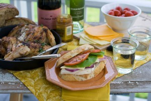 Keep wine on hand for an impromptu picnic