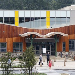 The new Sandy Hook Elementary School