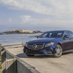 The 2017 Mercedes-Benz E300 Sedan offers the cutting edge in semi-autonomous driving. (Mercedes-Benz USA)
