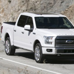 The 2016 4x4 Supercrew Limited is Ford's top of the line F-150 model.