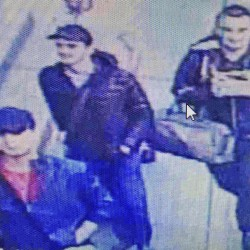 Men believed to be the Istanbul's Ataturk Airport attackers are captured in this image from video released by Haberturk newspaper via AP