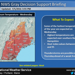 High Temperatures Will Reach Over 90 Degrees In Many Areas