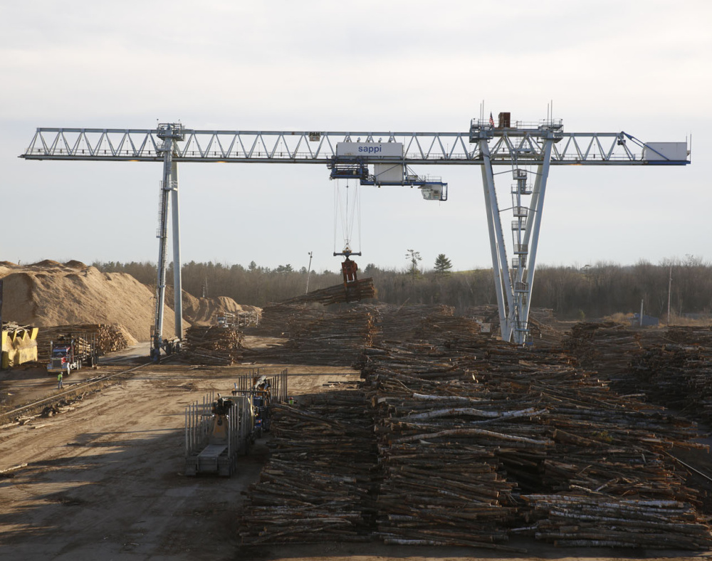 A $25 million equipment upgrade at the Sappi North America mill wood yard in Skowhegan will create up to 100 temporary construction jobs over the next year.