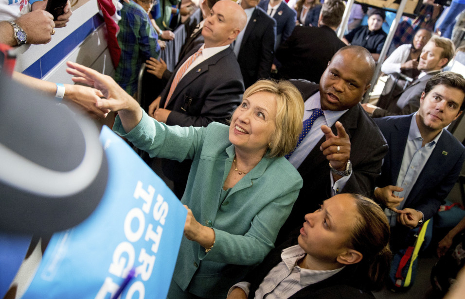 Democrat Hillary Clinton's campaign has launched a broad effort to convince Republican leaders who take issue with their party's nominee, Donald Trump, to support her instead.