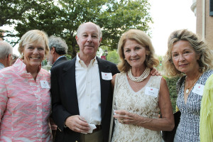 Caroline Pratt of Prouts Neck with Scott McMullin and Dianne Maskewitz of Scarborough, and Karen McDonald, also of Prouts Neck, at the PMA Directors Circle event.