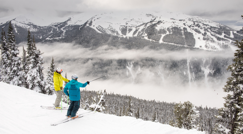 Whistler Blackcomb is the largest and most visited ski resort in North America.