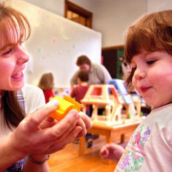 A tax deduction for child care would favor those who spend a lot in real terms, not those who spend a lot as a percentage of their incomes.