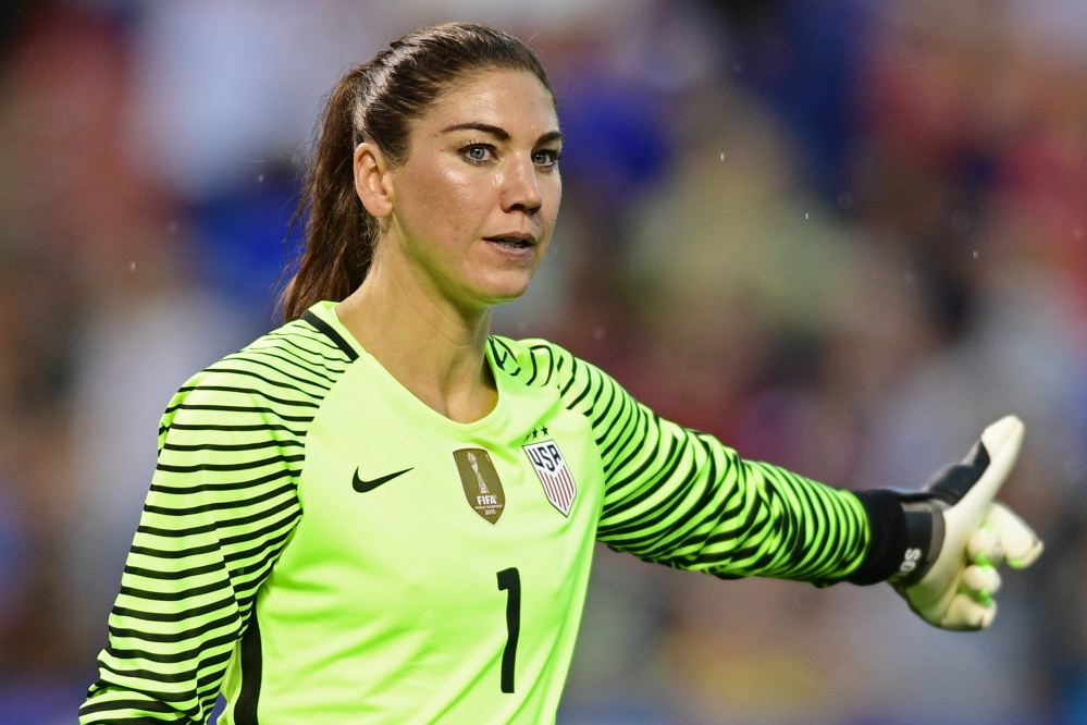 Even when the United States was winning the World Cup and Olympic gold, goalkeeper Hope Solo was a distraction with her antics and petty feuds. Now, after an Olympic elimination, her statements have crossed a line.