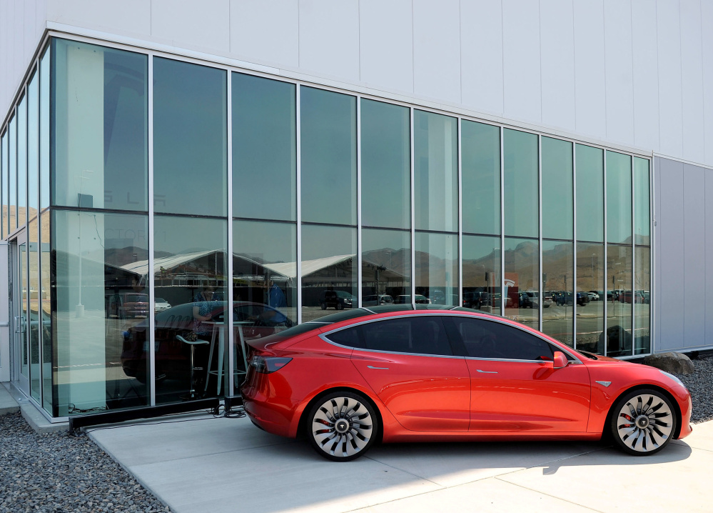 The Tesla Model 3 is registering stunning sales this year, as drivers have less reason to fear being stranded far from a recharging station if their electric car loses its charge.