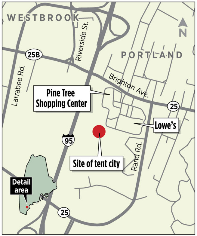 Homeless Inhabitants Of Portland's 'Tent City' Told To