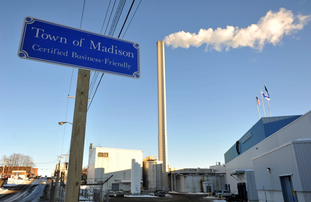 The Madison paper mill has been sold to a buyer that plans to use it for other industries.