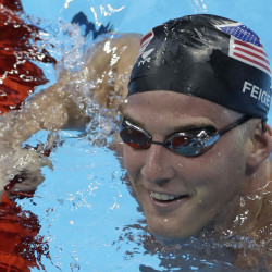 U.S. Olympic swimmer James Feigen was part of the group, including Ryan Lochte, that admitted to fabricating a story about being robbed at gunpoint during the Olympics in Rio de Janeiro.