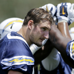 Rookie defensive end Joey Bosa, a first-round pick from Ohio State, saw the latest offer from the San Diego Chargers pulled off the table Wednesday by the team. Bosa has skipped training camp.