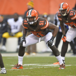 A disappointing run with the Browns is over for Barkevious Mingo, and that could benefit New England. The Patriots picked up the No. 6 pick in the 2013 draft Thursday.