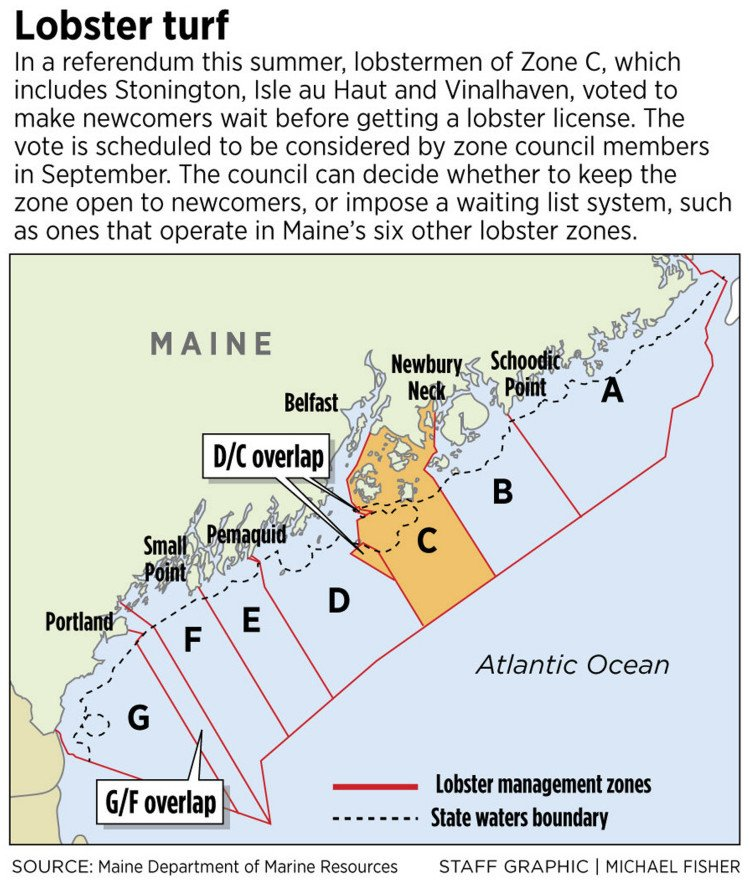 Lobstermen in Maine's historically open zone vote to close their waters to newcomers - The ...
