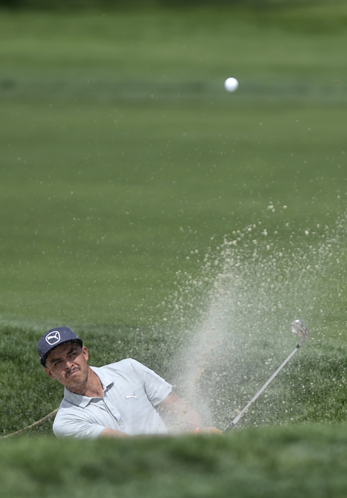 Rickie Fowler was one shot back Thursday after the first round of The Barclays – the start of the FedEx Cup playoffs. But he was just as concerned with his Ryder Cup standing.