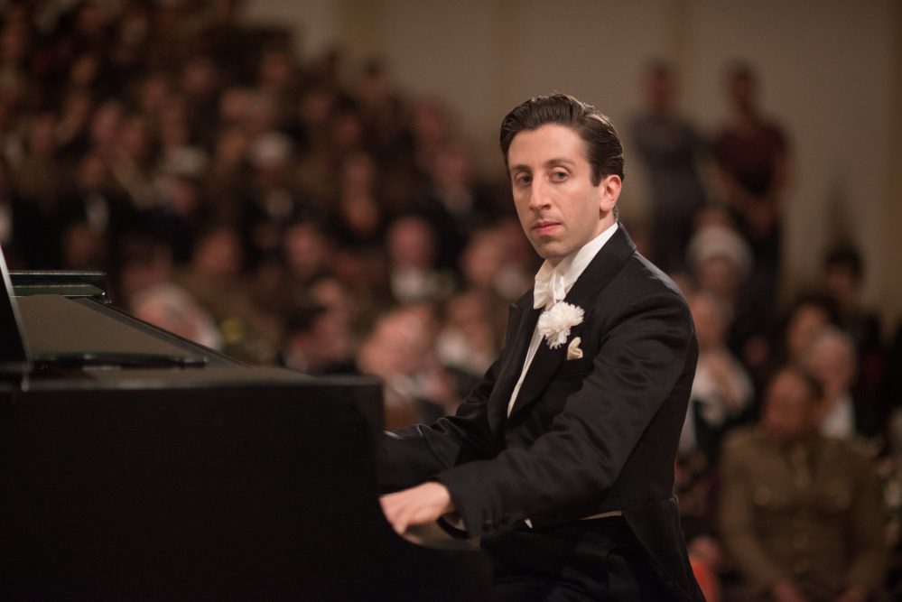 "Simon Helberg as Cosme McMoon in, ""Florence Foster Jenkins."" Nick Wall/Paramount Pictures, Pathe and BBC Films via AP"