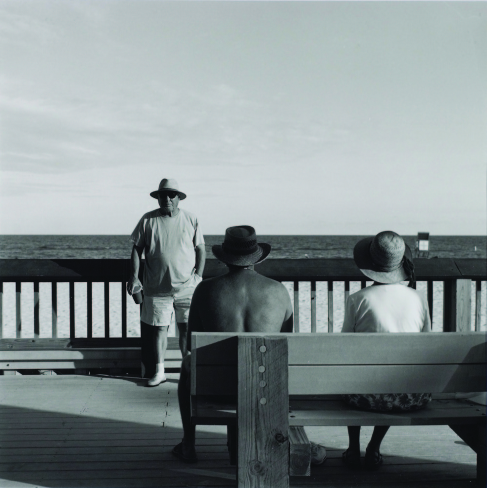 "Neil Rough, ""Gulf Shores Alabama,"" from the Beach Series, 2014, silver gelatin print."