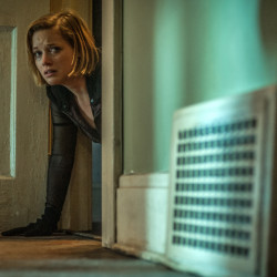 "An image released by Sony Pictures shows Jane Levy in a scene from the movie ""Don't Breathe."""